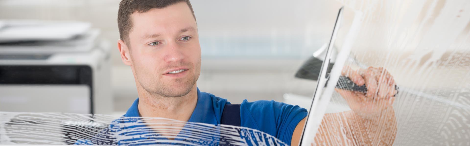Schreiber-Dienstleistung Glasreinigung